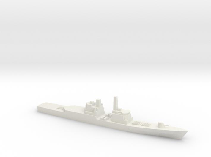 Strike Cruiser MK I Modernized, 1/700 3d printed