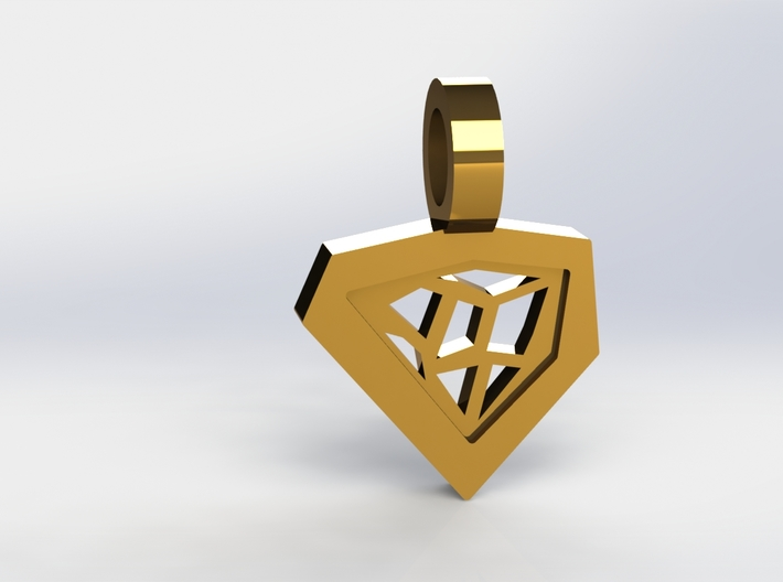 Architect Pendant 3d printed