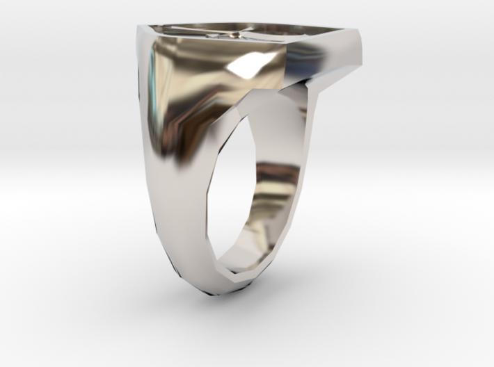 Mens Order Signet Ring 3d printed