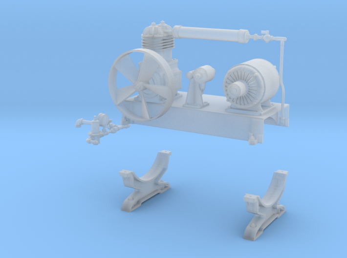 Air compressor parts 3d printed