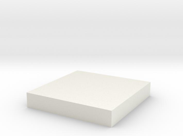 30mm Square 3d printed
