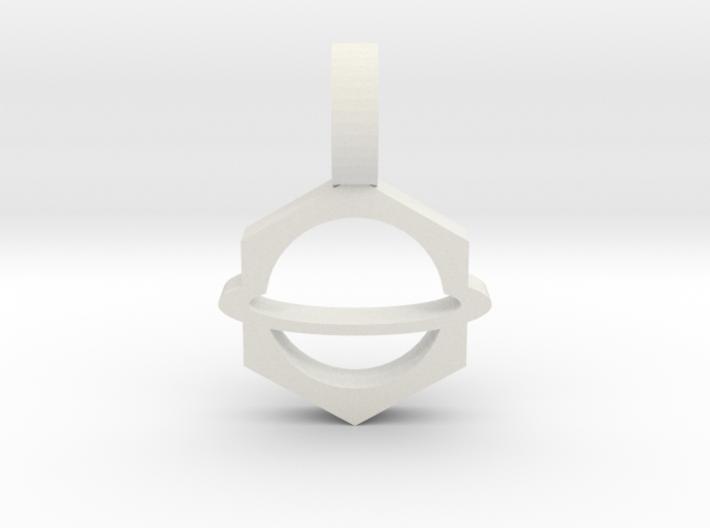 Planet Pendant 2 3d printed
