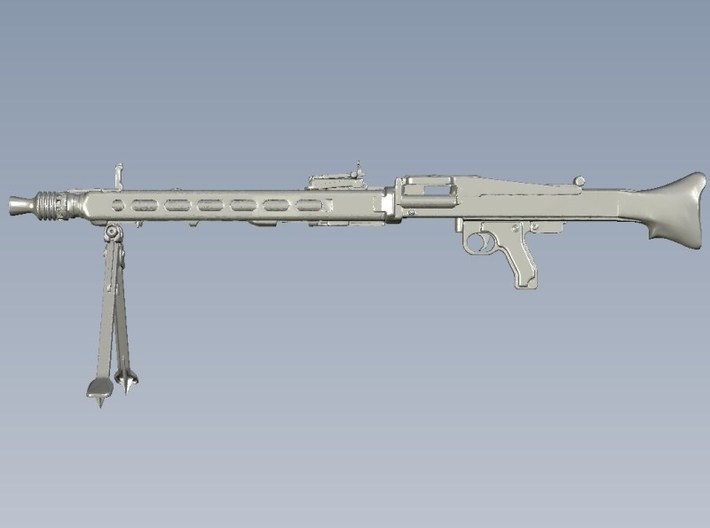 1/10 scale WWII Wehrmacht MG-42 machineguns x 4 3d printed