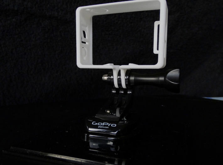 GoPro Hero 3 Frame Mount Strong Secure fit Go Pro 3d printed Add a caption...