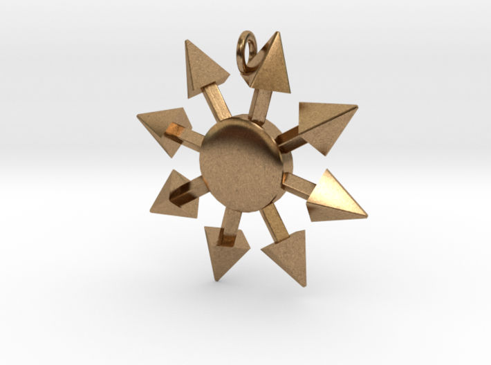 Chaos Star without engraving 3d printed
