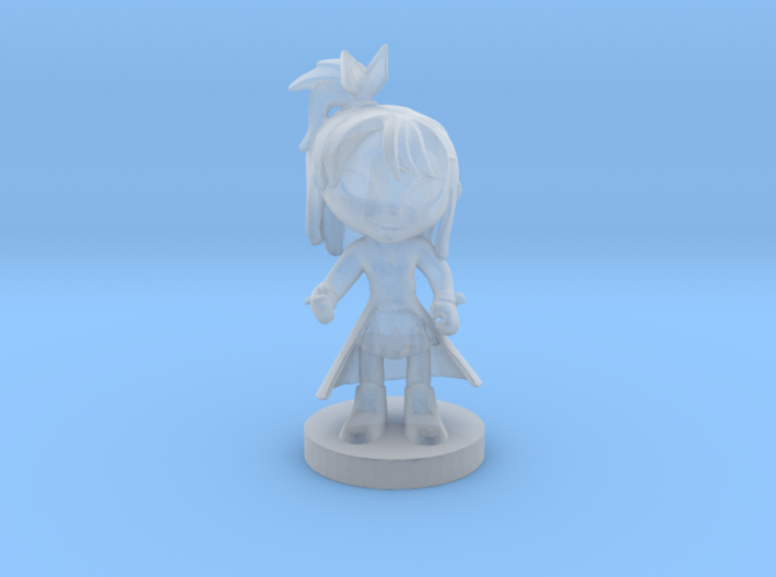 Lily cartoon character 3d printed