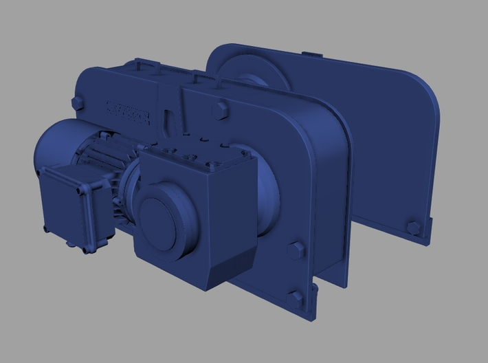 1/32 Patterson Facing Winch KIT 3d printed