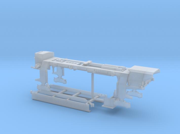 Portique de pose de traverse PTR20 de Matisa 3d printed