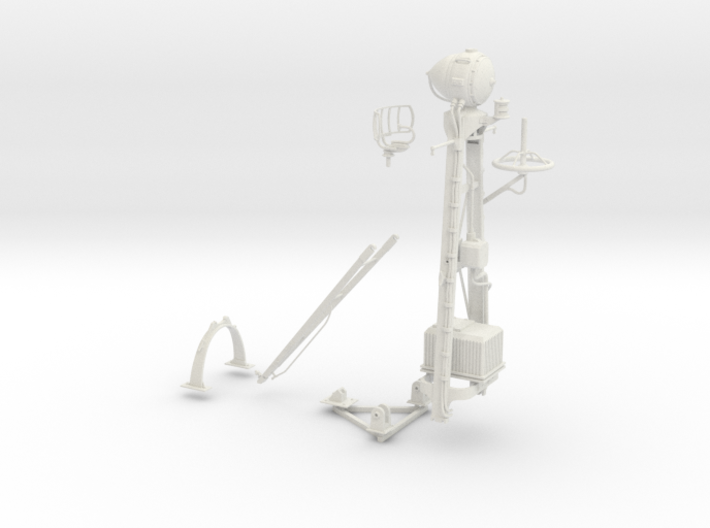 1-16 SO-3 Radar Mast PT-588 3d printed