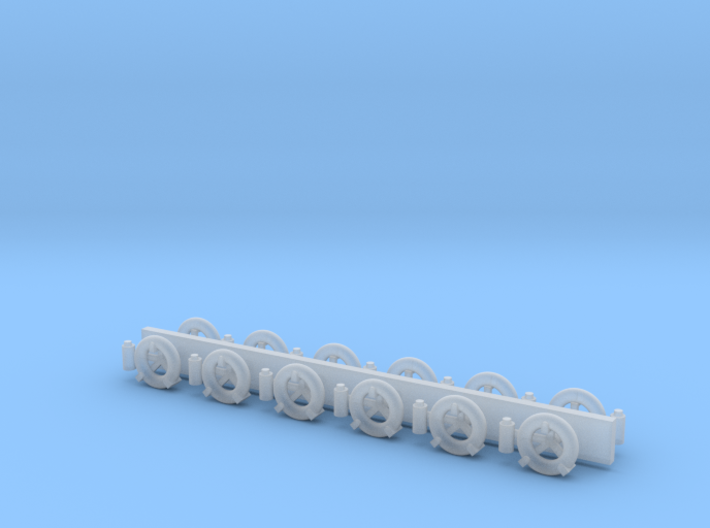 1/48 scale Life Ring sets 3d printed