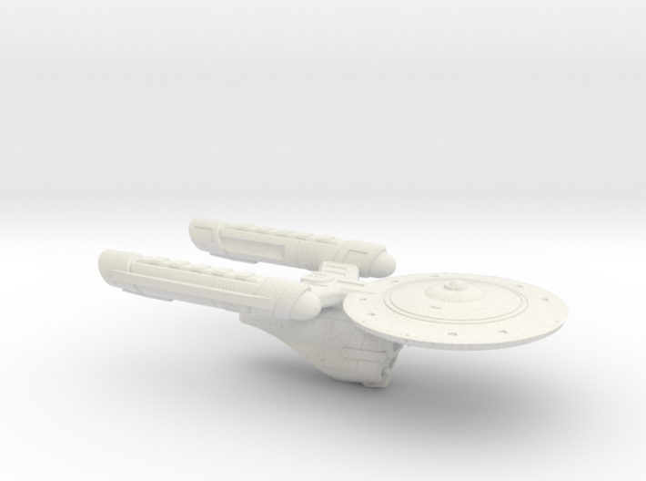 Terran Kongo Class Heavy Cruiser - 1:3125 3d printed