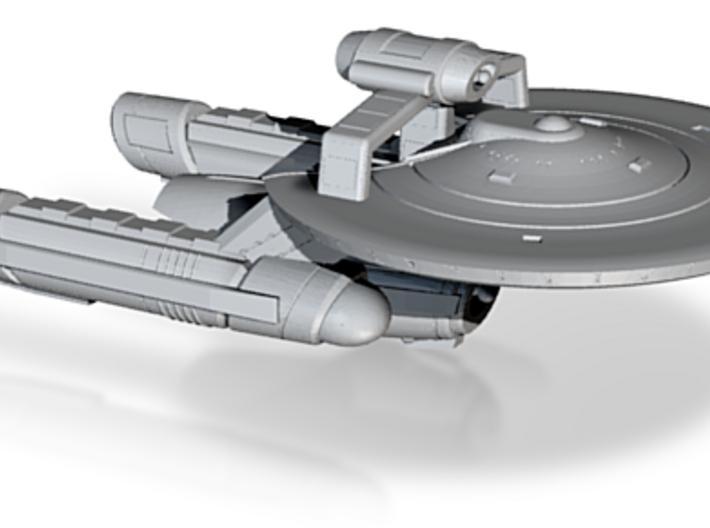 Terran Drake Class Heavy Explorer - 1:7000 3d printed