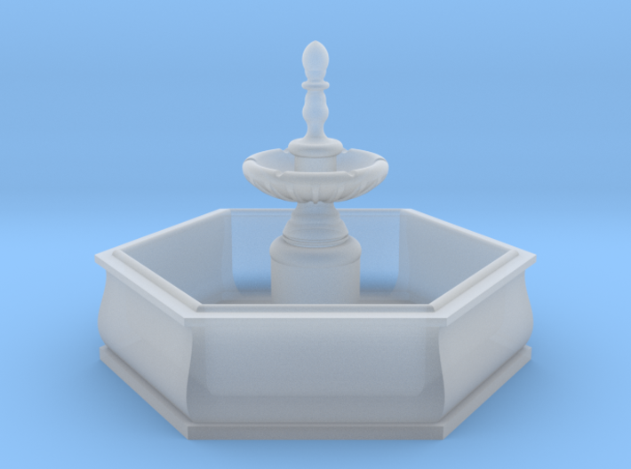 TJ-H01138 - Fontaine hexagonale 3d printed