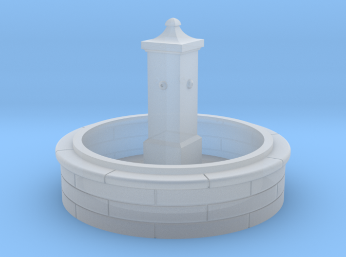 TJ-H01137 - Fontaine ronde 3d printed