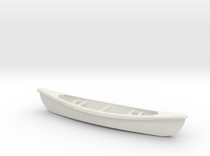 1/24 Scale 15 Ft Canoe 3d printed