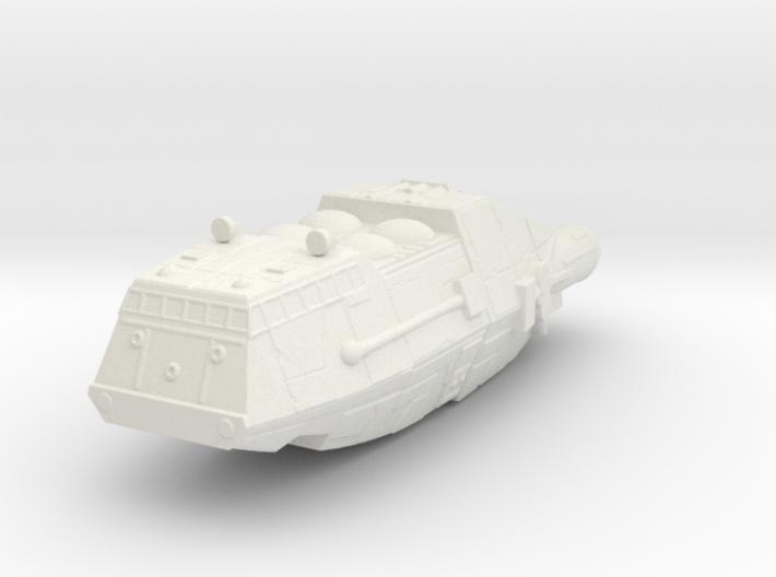 Shuttle (Battlestar Galactica TOS), 1/270 3d printed