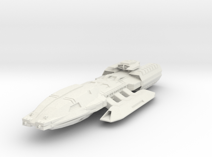 Pegasus Class BattleStar 3d printed