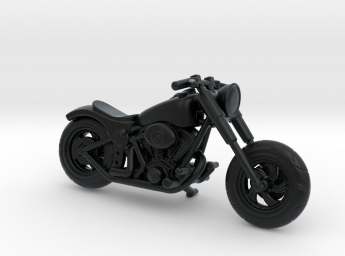 Harley Davidson Solo  1:87  - HO 3d printed