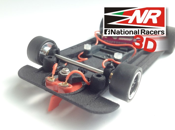 3D Chassis - SCR Matra 670 (AW/SW) 3d printed