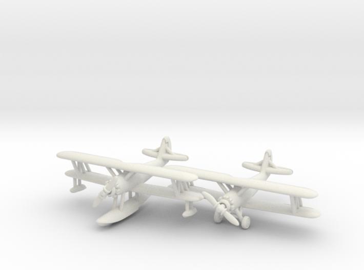Naval Aircraft Factory N3N-3 1/285 Pair 6mm 3d printed