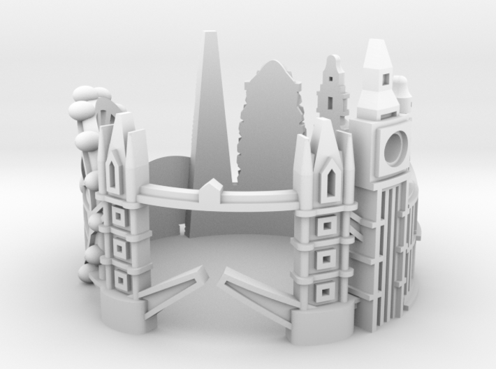 London3Ring US8 3d printed