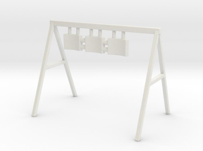 Swing 01. O Scale (1:48) 3d printed