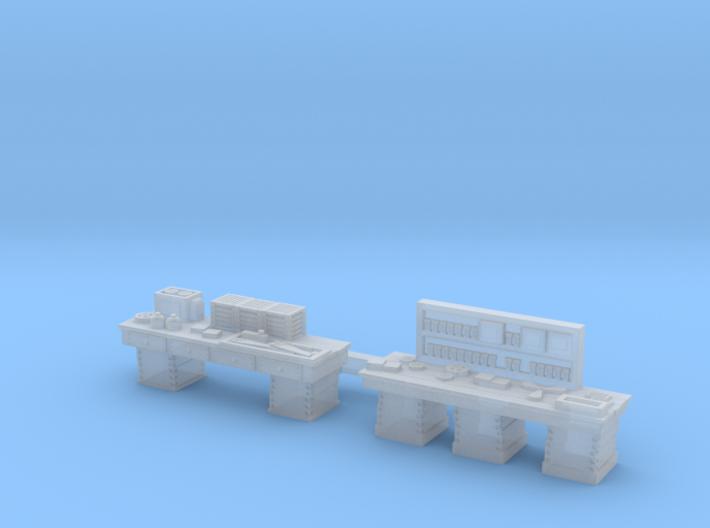 Workshop WORKBENCHES, 2 Pack N Scale Set 3d printed