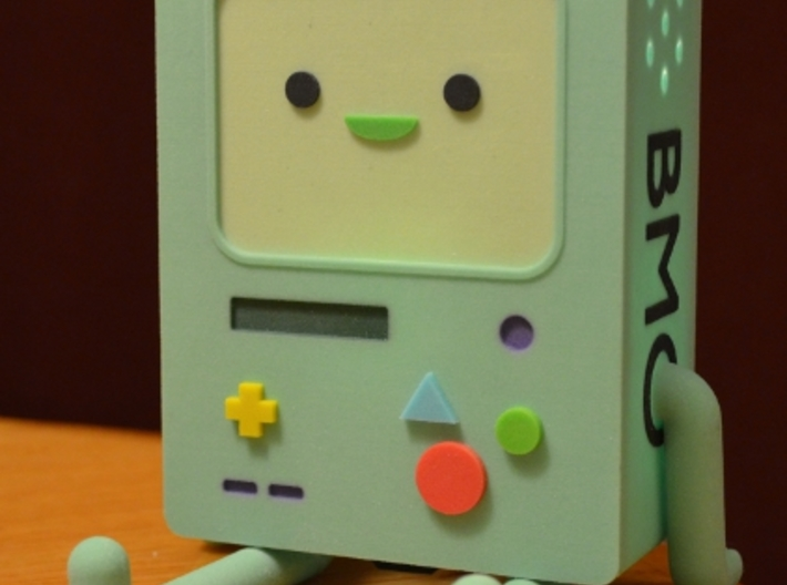 BMO Lamp in Color 3d printed BMO angle shot