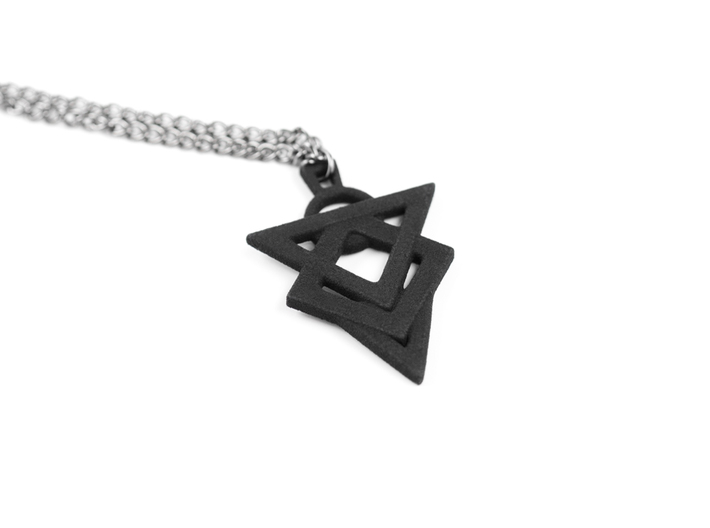 Glyph of Hatred Pendant 3d printed