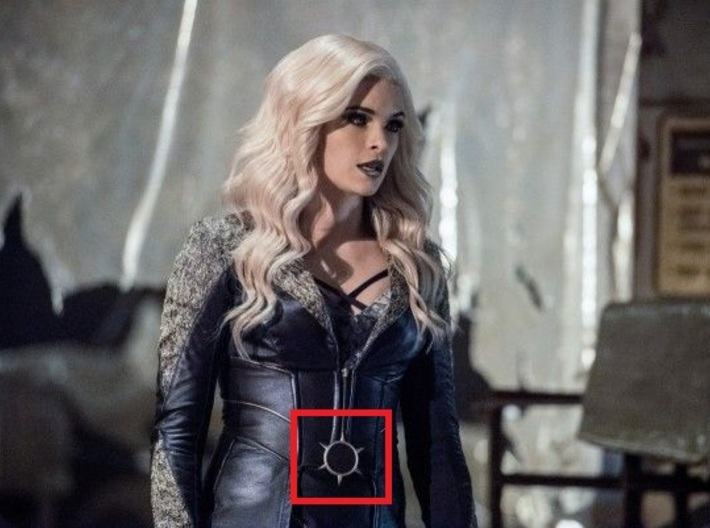 THE FLASH - Killer Frost 2.0 Buckle 3d printed