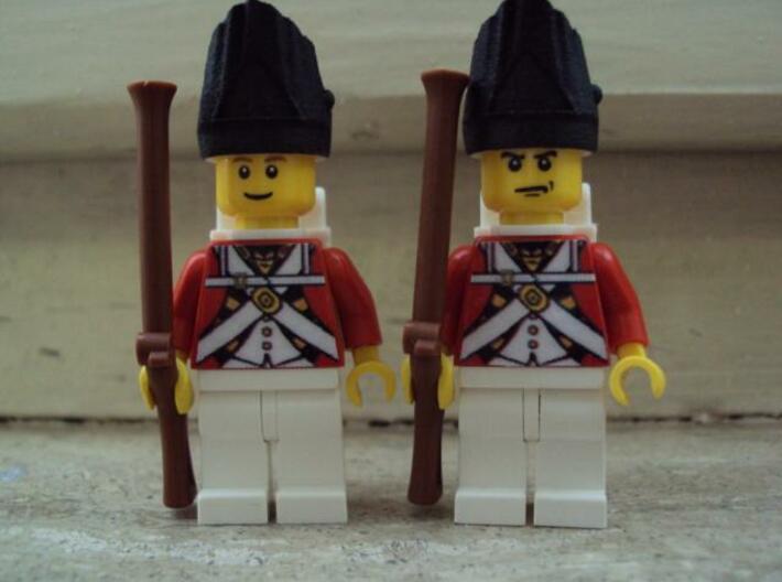 5 x British Grenadier 3d printed francesco