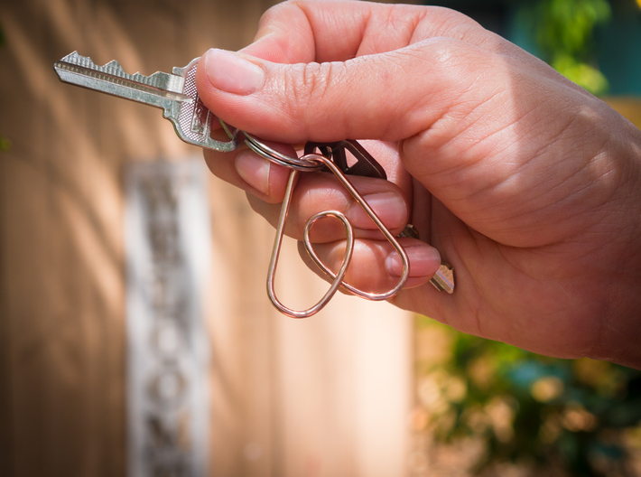 Airbnb Keychain 3d printed Make your guests feel like they belong with this Airbnb keychain