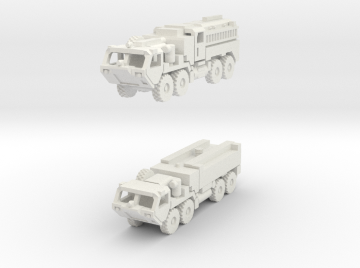 HEMTT Fire Fighting Unit 1/285 scale 3d printed