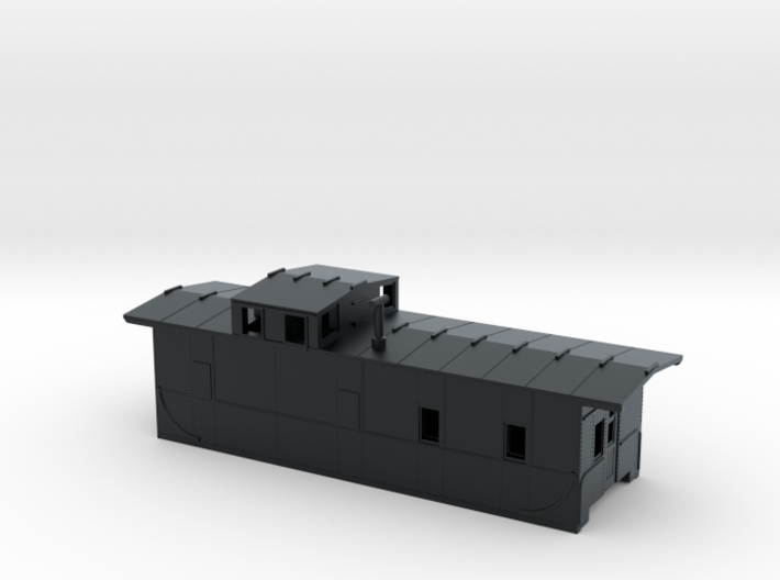 Southern Pacific C-40-3 Caboose modernized N Scale 3d printed
