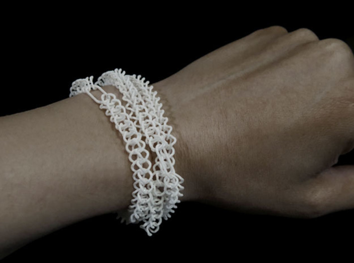 Chain Segment 1 3d printed Versatile, useable also as bracelet