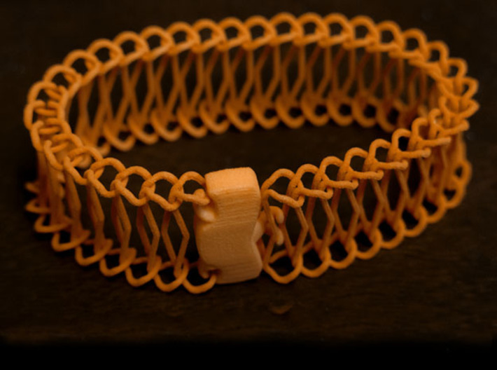 Ladder Chain 1 3d printed Closed loop with lock