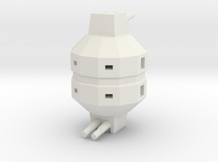 Laser Battery 3d printed