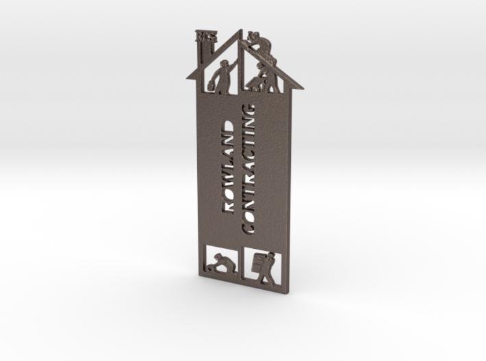 RCS Calendar Bookmark 3d printed