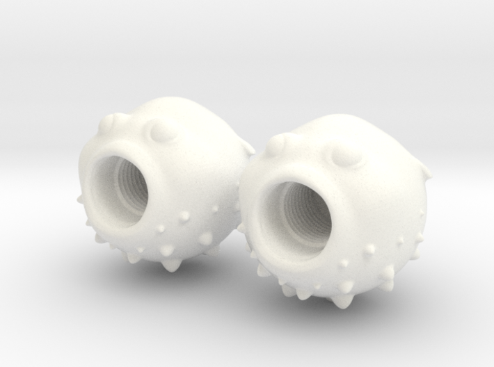 Blowfish Valve Caps - Shrader 3d printed