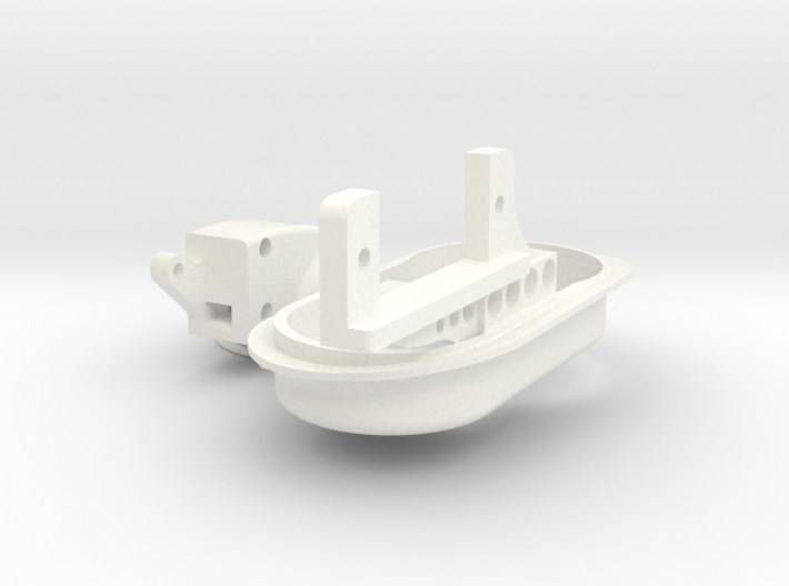 1.6 Phare Retractable EC Variante 1(led Luxeon 5mm 3d printed