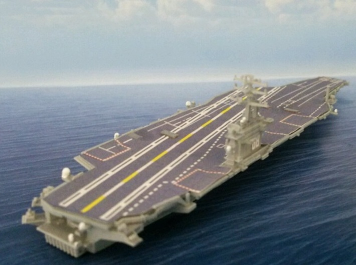 1/2000 USS Nimitz 3d printed painted and decal