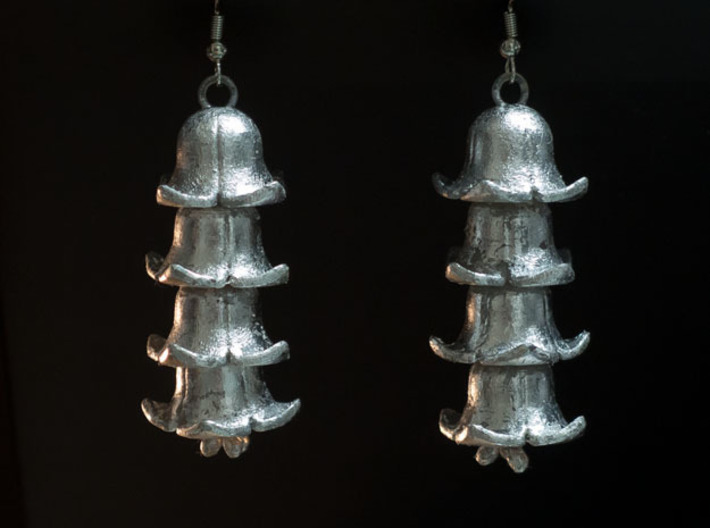 Bellings 3d printed Frosted Ultra coated with silver