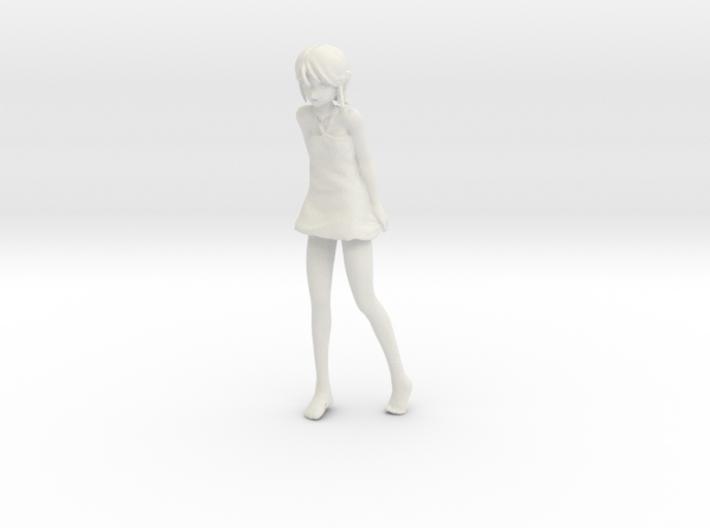 1/12 Girl at Beach 3d printed