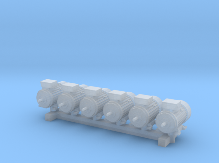 Electric Motor Size 1 (6pc) 3d printed