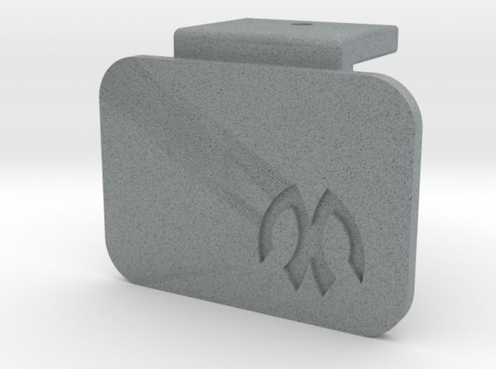 M05 Battery Mount Offset Cap 3d printed