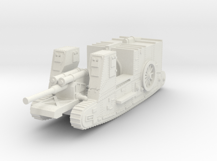 1/144 Gun Carrier Mk.I 3d printed