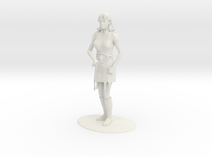 Elven Magic-User Miniature 3d printed