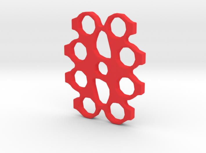 Brass Knuckles Fidget Spinner 3d printed