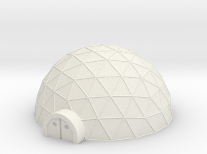 Large Geo Dome 3d printed