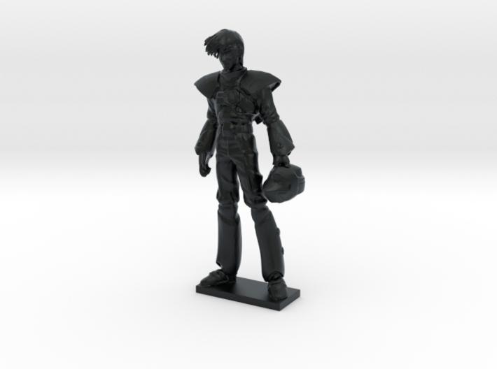 1/60 Macross Ace Roy Focker in Space Suit 3d printed